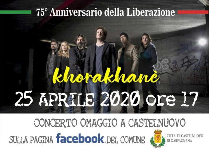 il 25 aprile, la comunità di Castelnuovo si è ritrovava in piazza della Repubblica per il concerto di chiusura delle celebrazioni.
