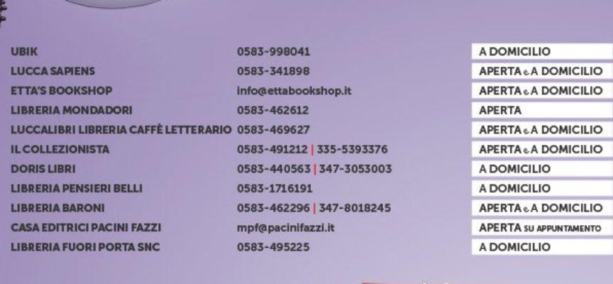 Lucca Legge: sosteniamo le nostre librerie, sosteniamo la lettura!