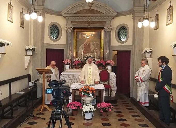 Stamattina abbiamo celebrato la Madonna dei Ferri con una messa presso la chiesa a Lei dedicata.