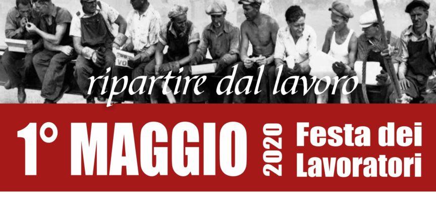 """CASTELNUOVO DI GARFAGNANA – 1° MAGGIO 2020 FESTA DEI LAVORATORI – """"RIPARTIRE DAL LAVORO"""""""