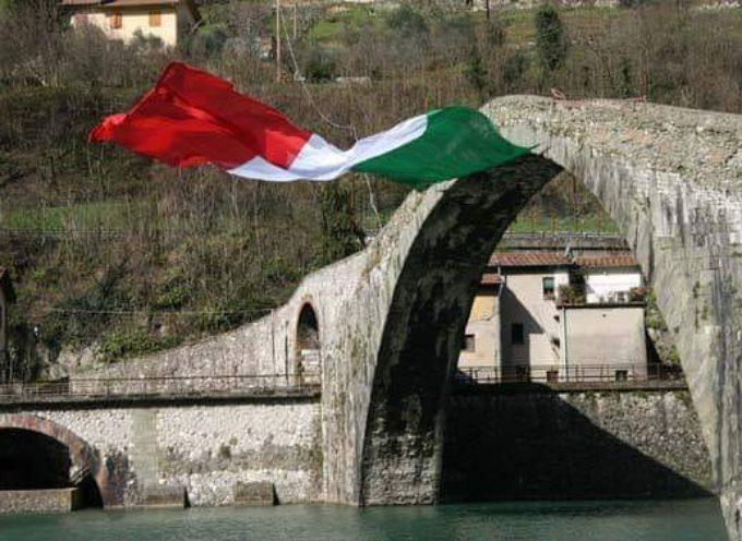 immagine del ponte del diavolo il giorno della liberazione