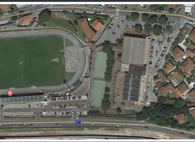Al via i lavori per il nuovo parcheggio al palasport di Camaiore