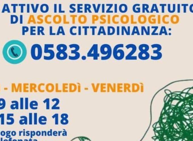 Il servizio di ascolto psicologico gratuito a distanza attivo anche il giorno di Pasqua e lunedì dell'Angelo