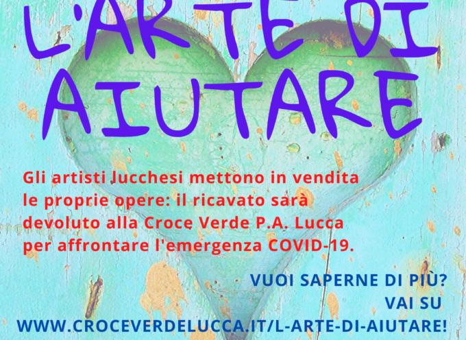"""""""L'ARTE DI AIUTARE"""": GLI ARTISTI LUCCHESI DI """"ARTE IN LUCCA"""" A FIANCO DELLA CROCE VERDE P.A. LUCCA"""