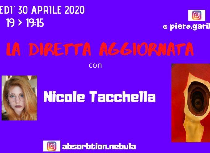 """OSPITE DE """"LA DIRETTA AGGIORNATA"""" NICOLE TACCHELLA"""