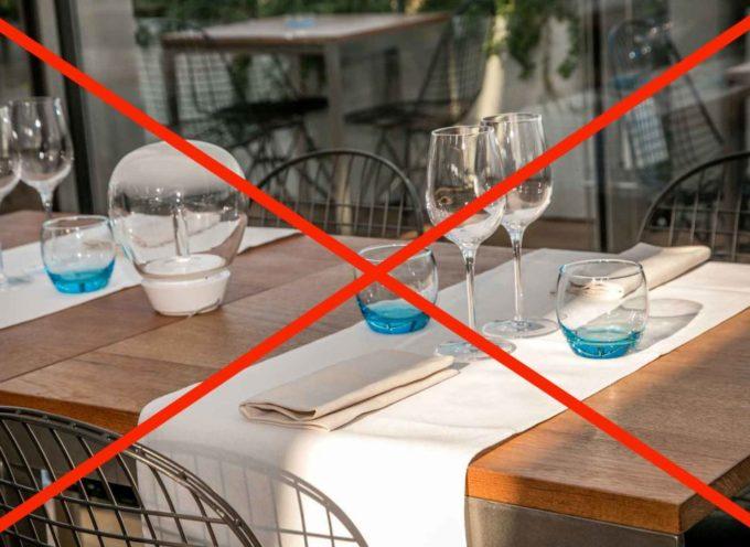 Aperture 1 giugno: rischio fallimento per 50 mila tra bar e ristoranti