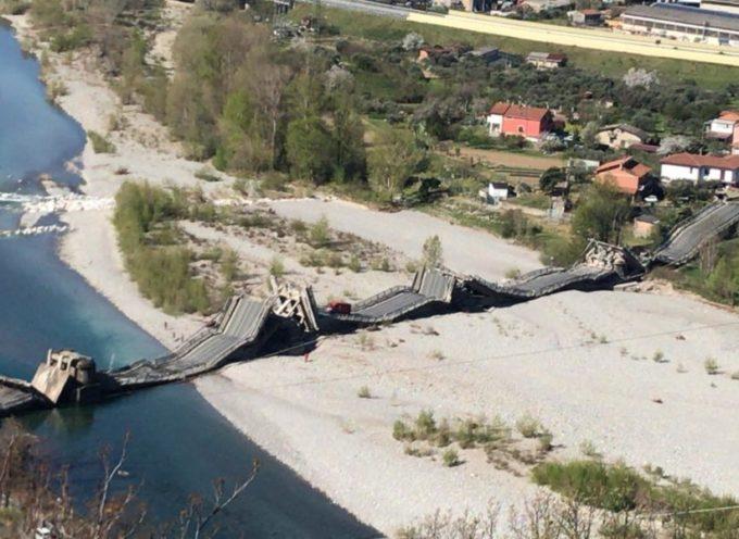 MASSA CARRARA: Crollo ponte Albiano Magra, Marchetti (FI): «Dramma sfiorato.Perché non si sono ascoltate le segnalazioni dei cittadini sulle crepe?»