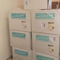 1000 tute monouso donate al San Luca