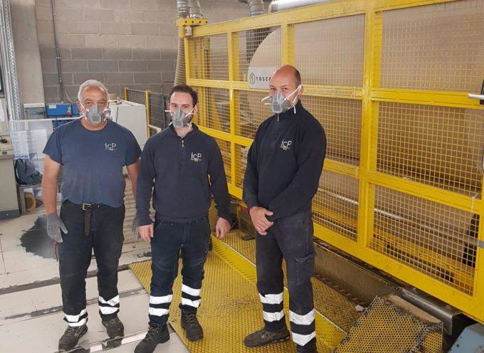 Gruppo Cartiera dell'Adda – Industria Cartaria Pieretti: dipendenti e aziendea sostegno dell'emergenza