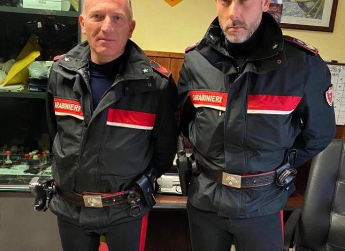 i Carabinieri  hanno tratto in arresto  un cittadino marocchino di anni 21, responsabile del reato di rapina ai danni del dipendente di una pizzeria,