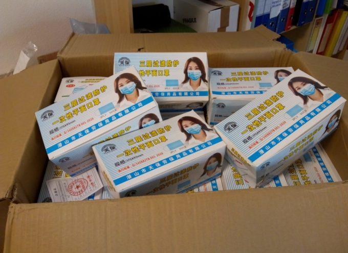 La Diocesi di Ningxia (Cina) ha donato 6mila mascherine chirurgiche alla Diocesi di Lucca
