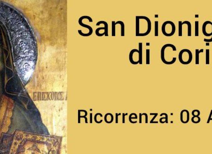 il santo del giorno 8 aprile San Dionigi di Corinto