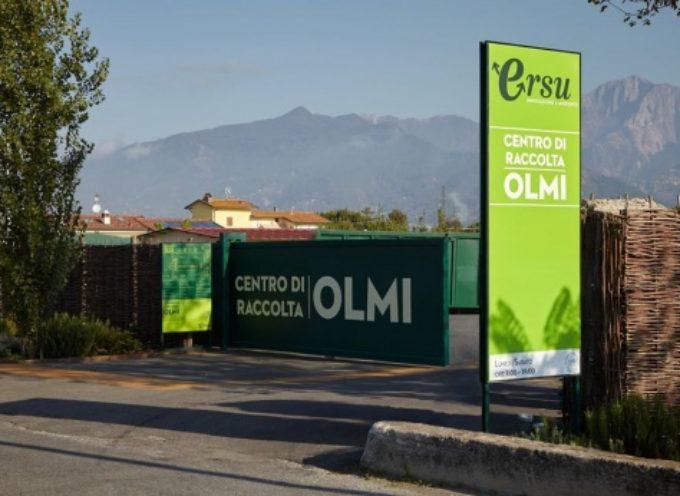 PIETRASANTA – riaprono impianto del verde in via Pontenuovo e centro raccolta in via Olmi
