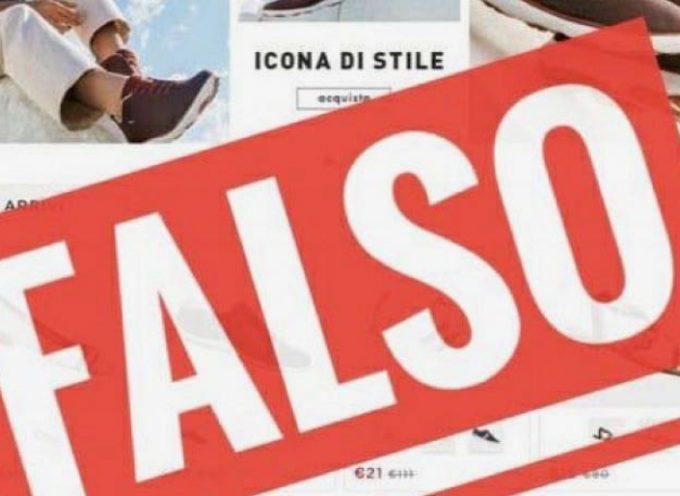 Nuove frodi online: falso sito del marchio GEOX nel mirino dei truffatori telematici