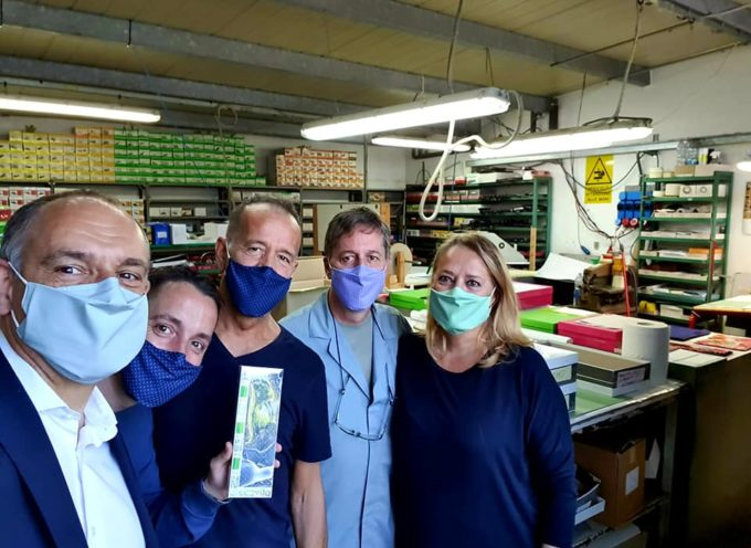 Ci sono aziende del Capannorese che hanno iniziato a produrre mascherine durante l'emergenza.