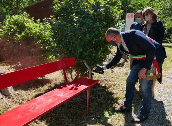 panchina rossa IN RICORDO DI ALESSANDRA BIAGI