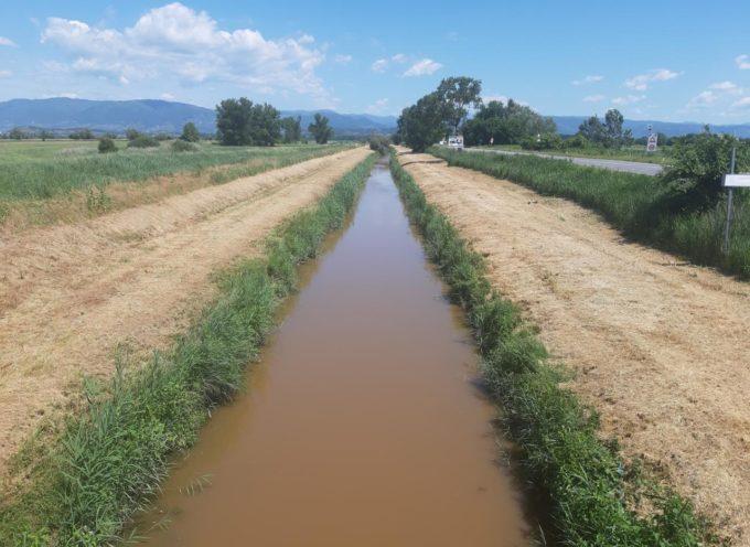 Al via i lavori di manutenzione ordinaria del Consorzio di Bonifica 1 Toscana Nord ad #Altopascio sul rio #Navareccia