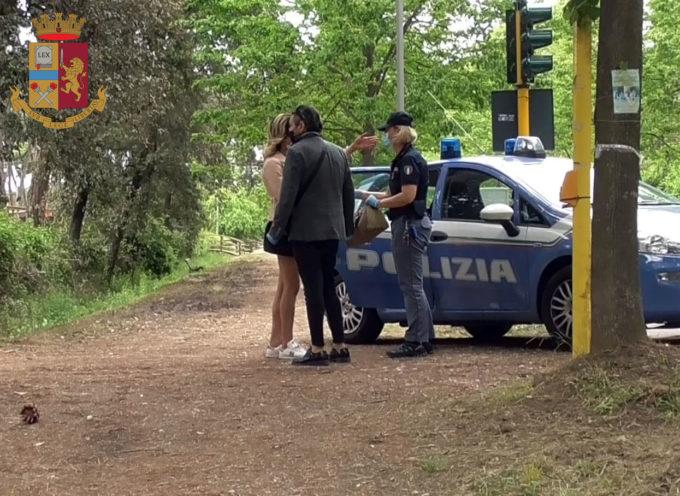 Viareggio – La Polizia di Stato continua a vigilare sul rispetto delle norme per il contenimento del Covid-19