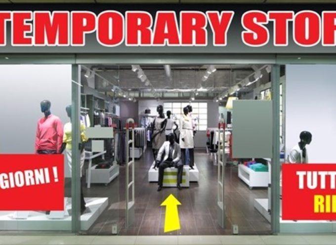 CAPANNORI – apertura semplificata per i 'Temporary shop',