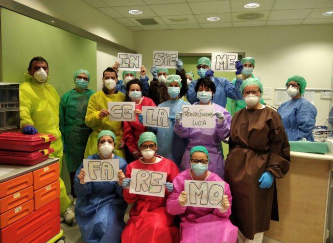 Ospedale San Luca: 3 pazienti Covid in Terapia intensiva; zero nel reparto Covid