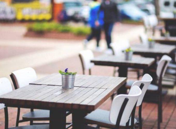 """Più spazio a bar e ristoranti per salvare turismo e commercio"""""""