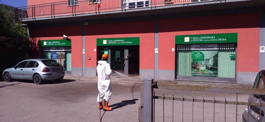 Continua oggi nel Comune di Castelnuovo di Garfagnana la sanificazione