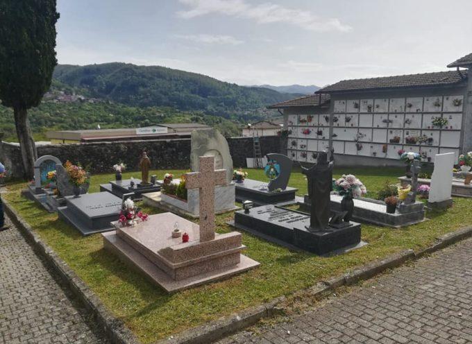Negli 8 cimiteri del nostro Comune, riaperti al pubblico lunedì 4 maggio, è stata tagliata l'erba e fatta una prima pulizia generale.