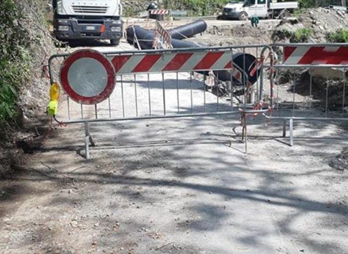 continuano nel Comune di Vagli i lavori di messa in sicurezza delle strade comunali per salvaguardare l'incolumità pubblica.