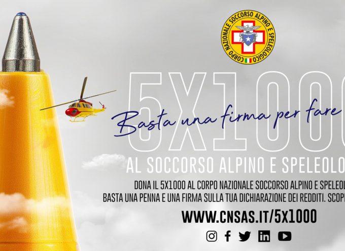 donerai il 5×1000 al Soccorso Alpino e Speleologico Toscano……
