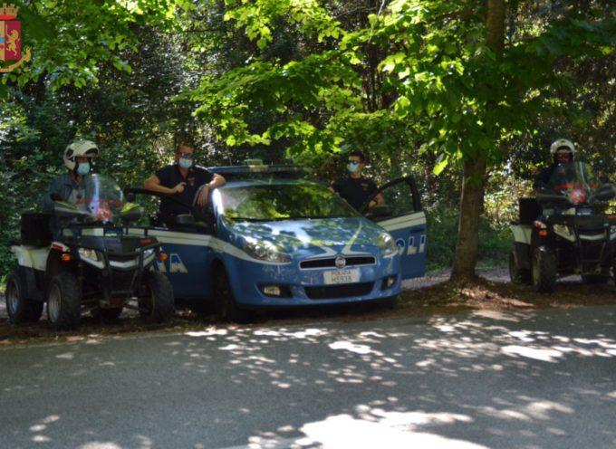 Viareggio – Controlli della Polizia di Stato finalizzati al contrasto della prostituzione, sul Viale dei Tigli