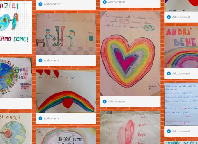Lucca: nei disegni dei bambini della scuola primaria di Monte San Quirico la gratitudine al personale dell'ospedale San Luca