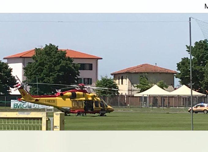 Seravezza – Incidente sul lavoro a Ripa, in via Chiusa, feriti due operai, uno è grave