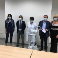 I Lions Toscana donano un ventilatore polmonare mobile alla Pneumologia dell'ospedale di Lucca