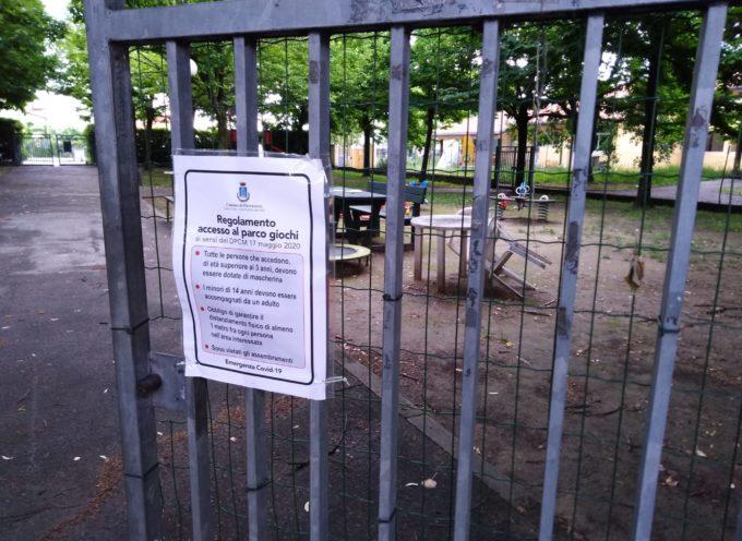 Pietrasanta – parchi gioco in sicurezza, comune li riapre tutti ma occhio alle regole