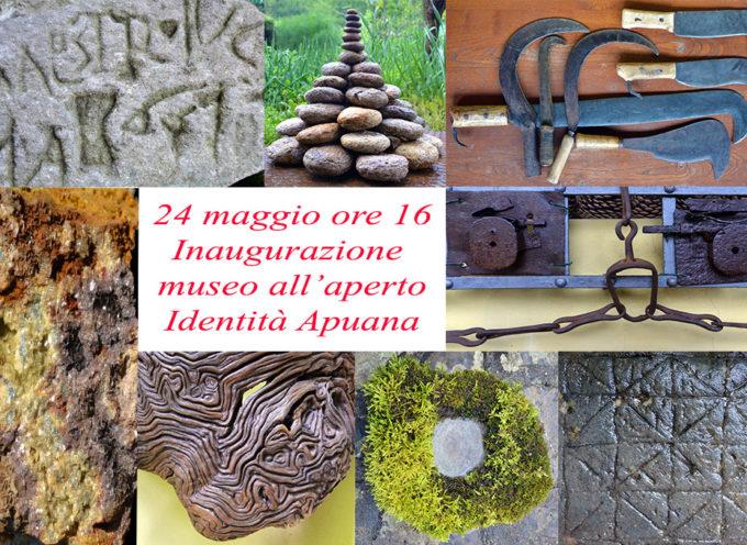 Apuantrek inaugura il museo all'aperto Identità Apuana