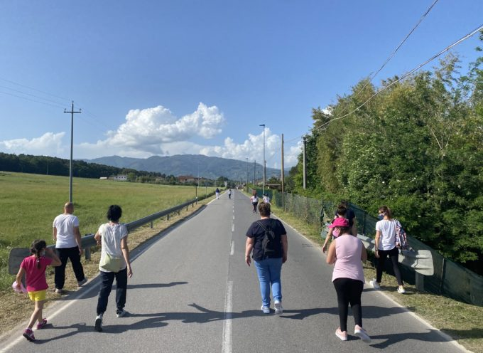 Passeggiate in Padule: domenica strade chiuse al traffico