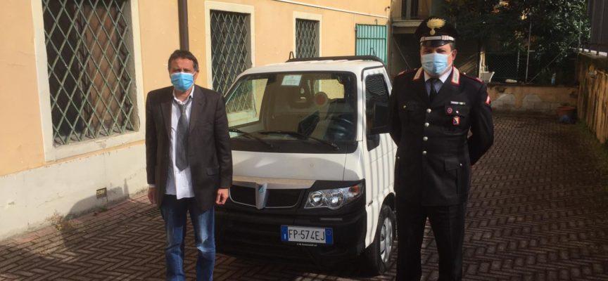 Ritrovato dai carabinieri di Pescia il Porter rubato