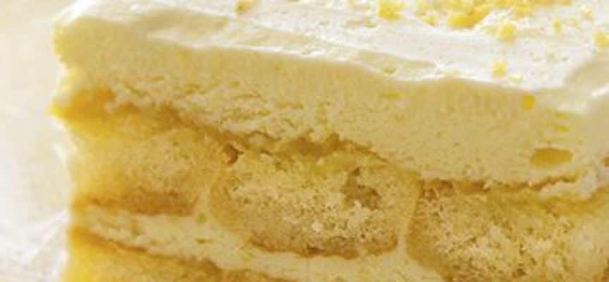 Tiramisù al limone, una variante fresca e gustosa da preparare in casa in 20 minuti