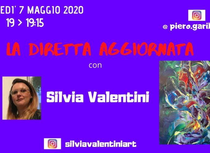 """L'ARTISTA SILVIA VALENTINI OSPITE DE """"LA DIRETTA AGGIORNATA"""""""