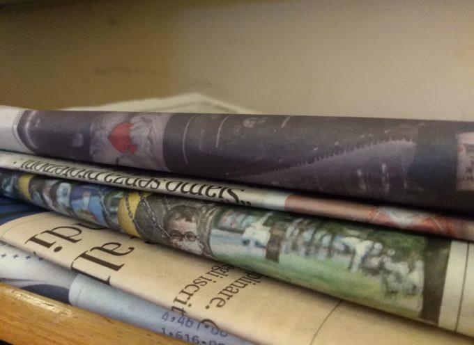 Coronavirus, nuova ordinanza: vietato mettere a disposizione giornali in consultazione