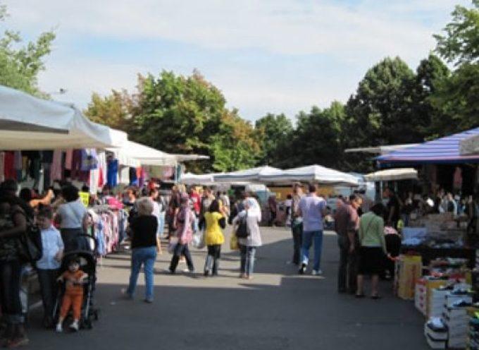 Il mercato ambulante.