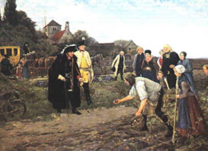 Il prete che portò la patata in Garfagnana… Storia di guerre, carestie e superstizione