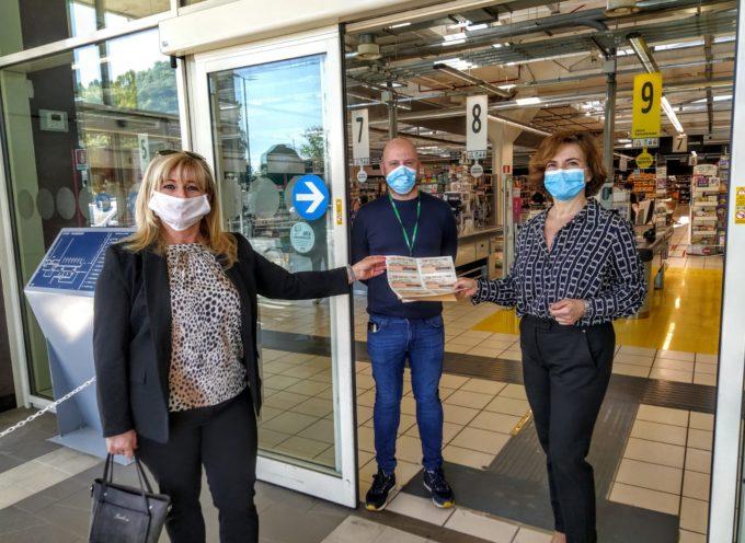 Coronavirus, Pacchi alimentari grazie alla donazione delRotary Club Viareggio Versilia