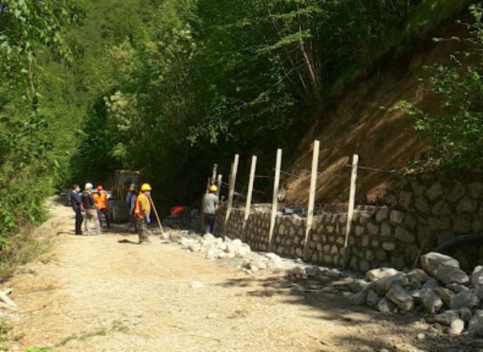 Garfagnana, lavori in corso per completare la strada tra Torrite e Sassi