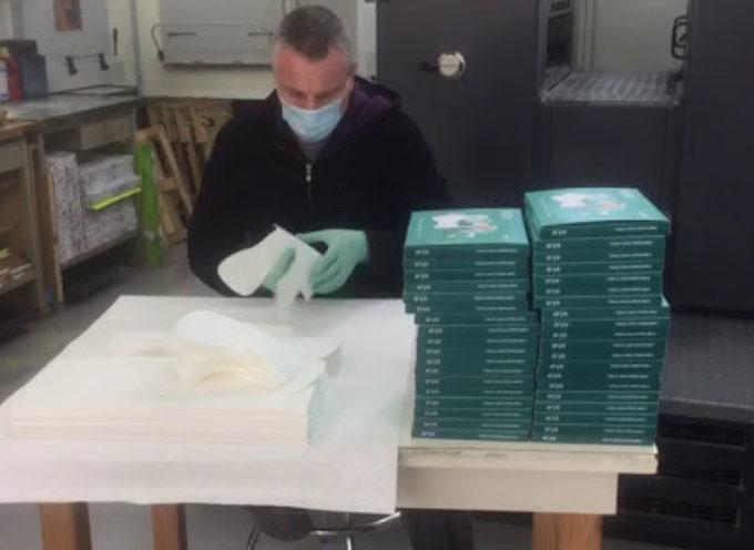 Nasce a Massarosa Arya, la eco-mascherina riciclabile