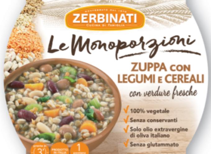 Richiamata anche la zuppa di legumi e cereali Zerbinati per sospetta presenza di botulino