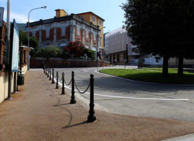 area stazione, più sicuro e più accessibile il passaggio pedonale fino al centro storico (Porta a Pisa)