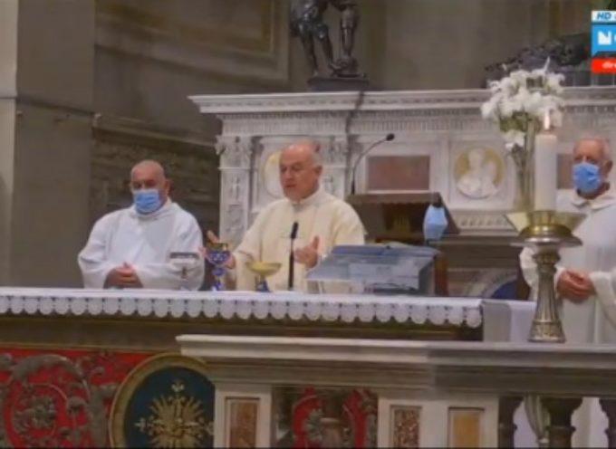 Emergenza Sanitaria: a Pietrasanta celebrata Santa Messa per i caduti e gli eroi Covid-19
