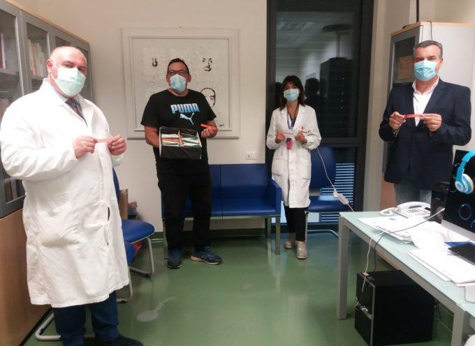 """Ospedale San Luca: donazione """"creativa"""" della ditta Bacci di Porcari"""