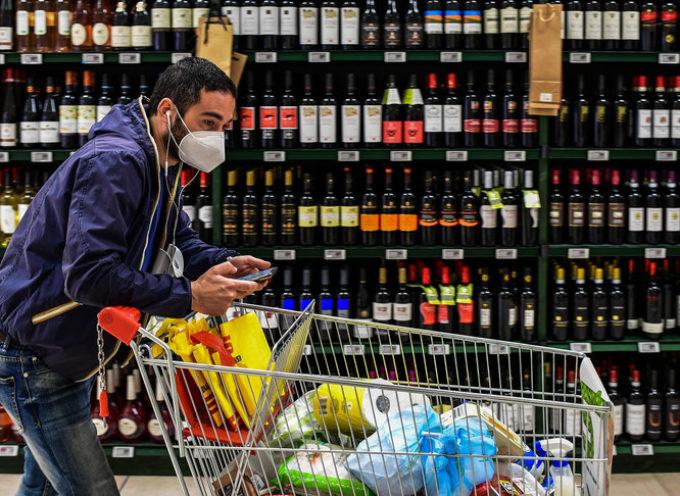 AllarmeConfcommercio: crollano i consumi, -30% a maggio